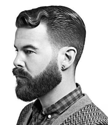 Awesome Beard Manly Grow That Beard Like A Man Short Hairstyles For Black Women Fulllsitofus
