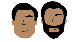 Beards for Round Face
