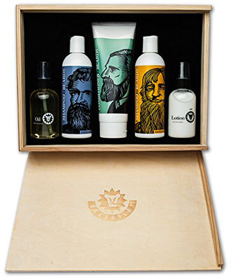 Beardsley in the Box Beard Care Box Set