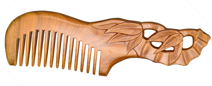 Wooden Beard Comb
